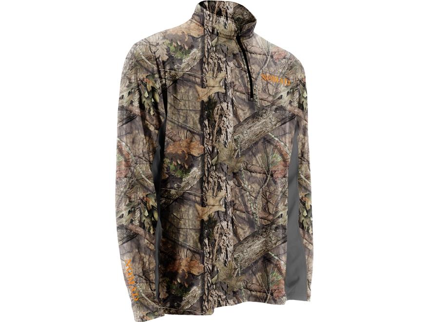 Nomad Men's Cooling 1/4 Zip Shirt Long Sleeve Polyester