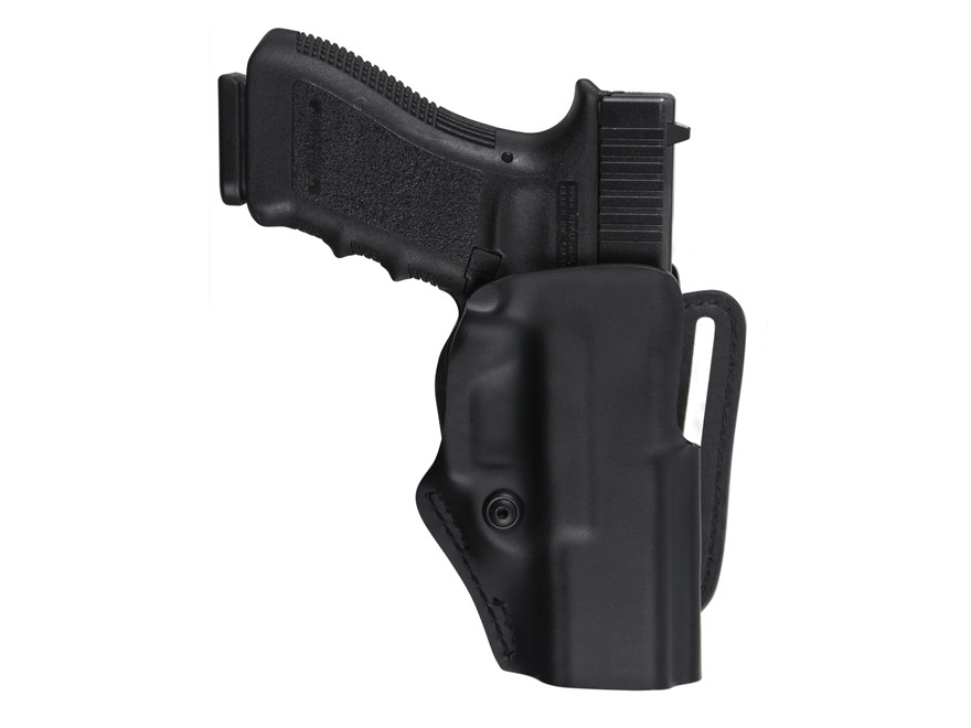 Safariland 5197 Mid Ride Belt Loop Holster with Detent Glock 17, 22 Polymer Black