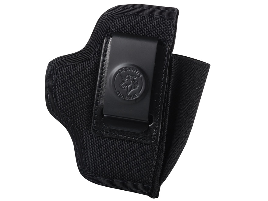 DeSantis Pro Stealth Inside the Waistband Holster Ambidextrous Kimber Micro 9 Nylon Black