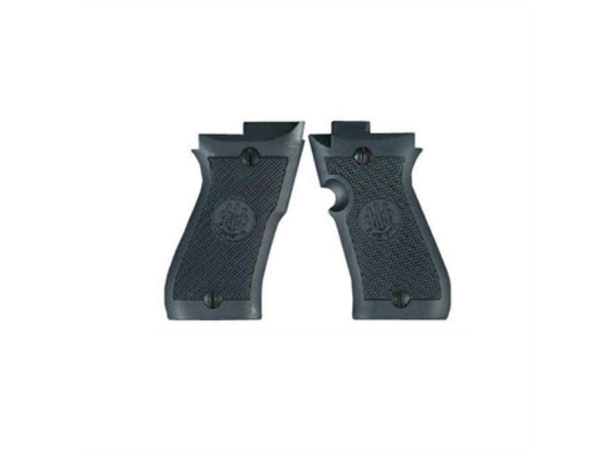 Beretta Factory Grips Beretta 85F Cheetah Polymer Black
