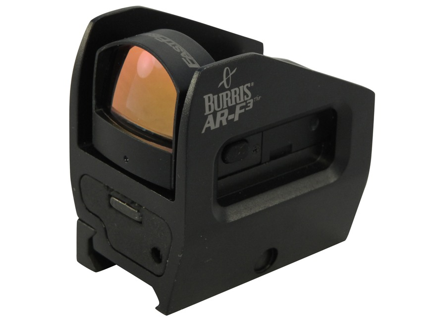 Burris AR-F3 Reflex Red Dot Sight 3 MOA Dot with Picatinny-Style Mount Matte