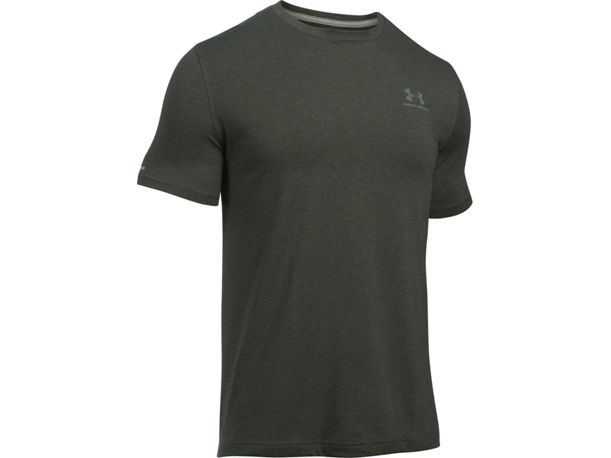 Under Armour Men's UA Sportstyle T-Shirt Short Sleeve Cotton and Polyester Blend
