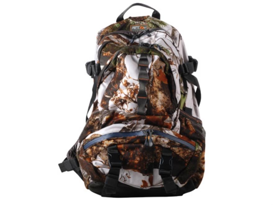 Scent-Lok Daypack Backpack Polyester Vertigo Gray Camo