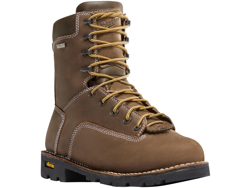 "Danner Gritstone 8"" Waterproof 400 Gram Insulated Work Boots Leather Men's"