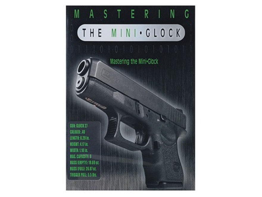 "Gun Video ""Mastering the Mini Glock"" DVD"