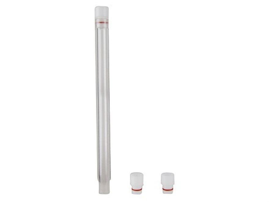 "Possum Hollow Drop Tube for Lyman Powder Measure 8"" Clear"