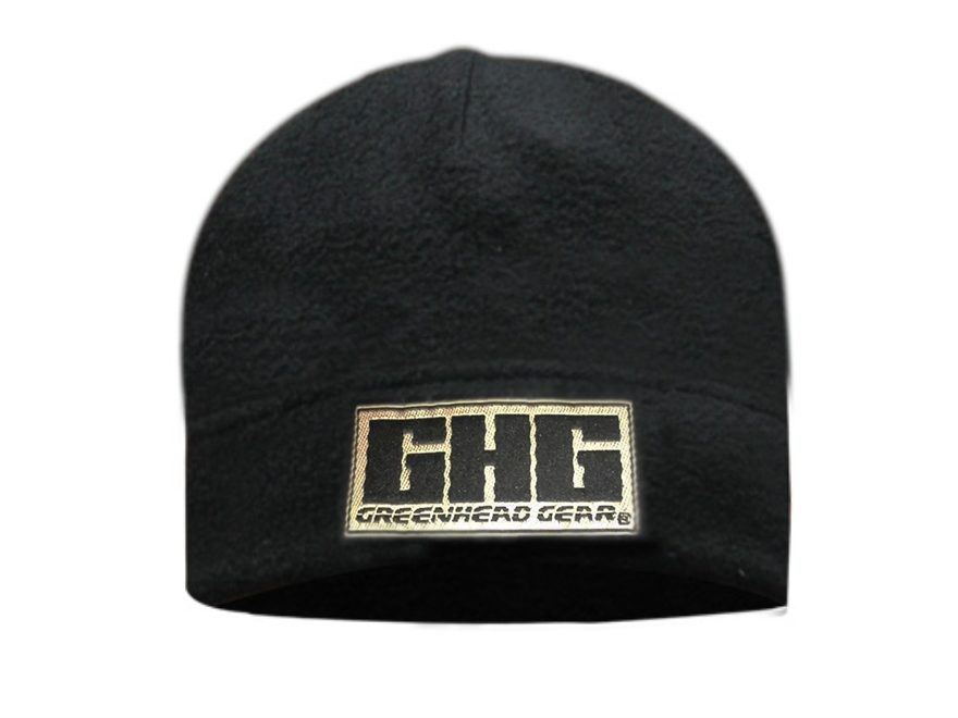 GHG Skull Cap Fleece Black