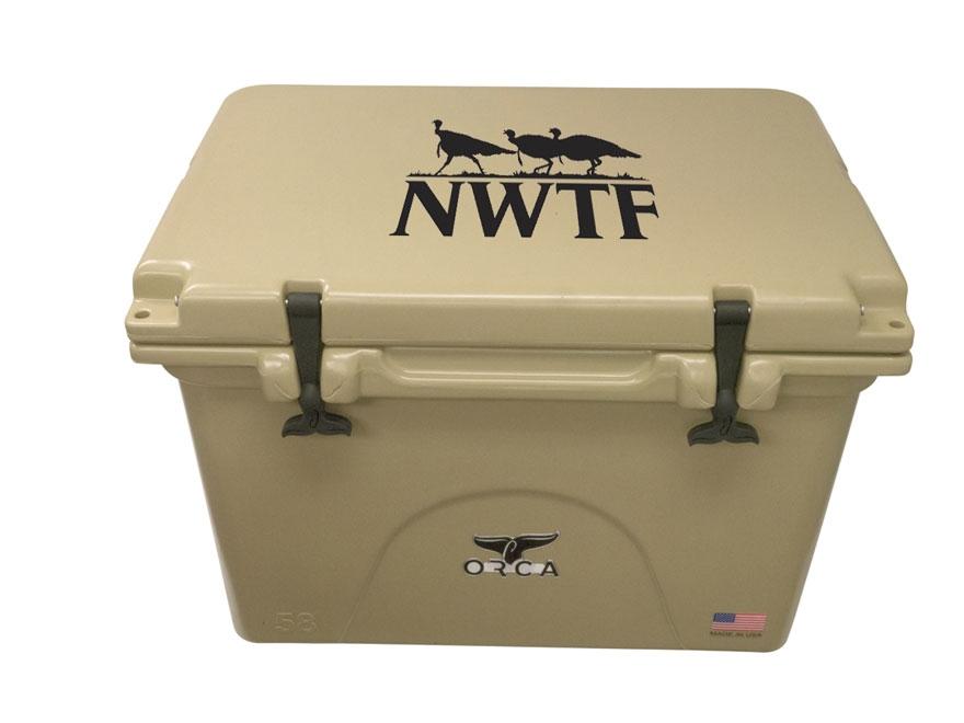 Orca 58 Qt NWTF Cooler Polyethylene
