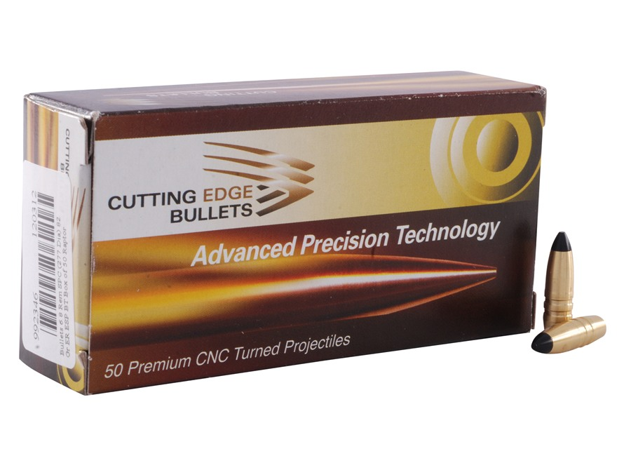 Cutting Edge Bullets ESP ER Raptor Bullets 6.8mm Remington SPC (277 Diameter) 82 Grain ...