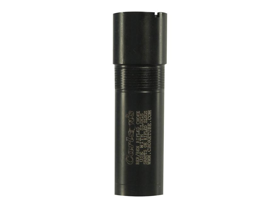Carlson's Extended Rifled Choke Tube Beretta, Benelli Mobil 12 Gauge Black