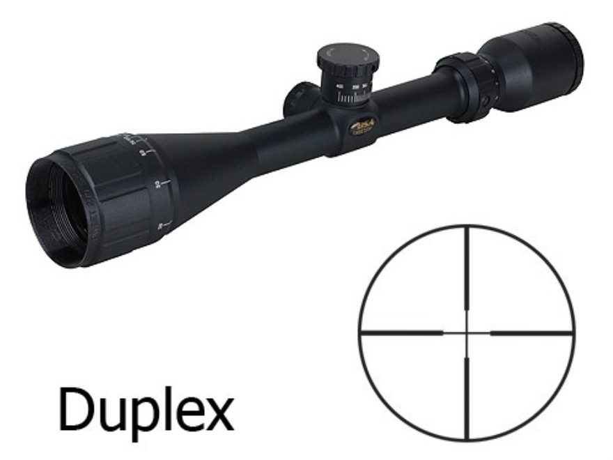 BSA Sweet 270 Big Game Rifle Scope 3-10x 44mm Adjustable Objective Duplex Reticle Matte
