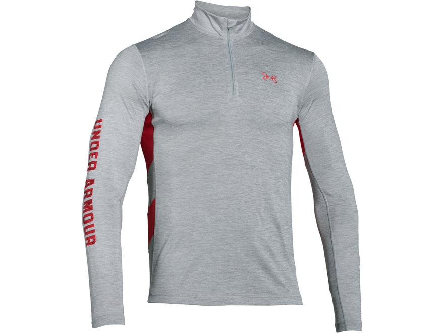 Under Armour Men's UA Fish Hunter Tech 1/4 Zip Shirt Long Sleeve Polyester
