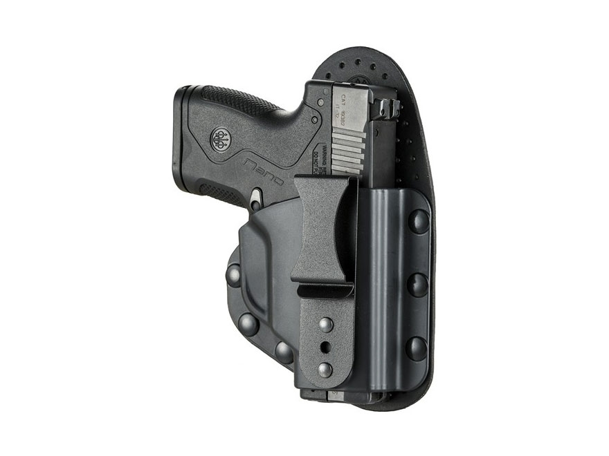 Beretta Inside the Waistband Holster Model S Right Hand Nano Leather/Polymer Black