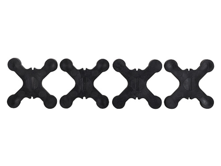 Bowjax Slip Jax Bow String Silencer Rubber Black Pack of 4