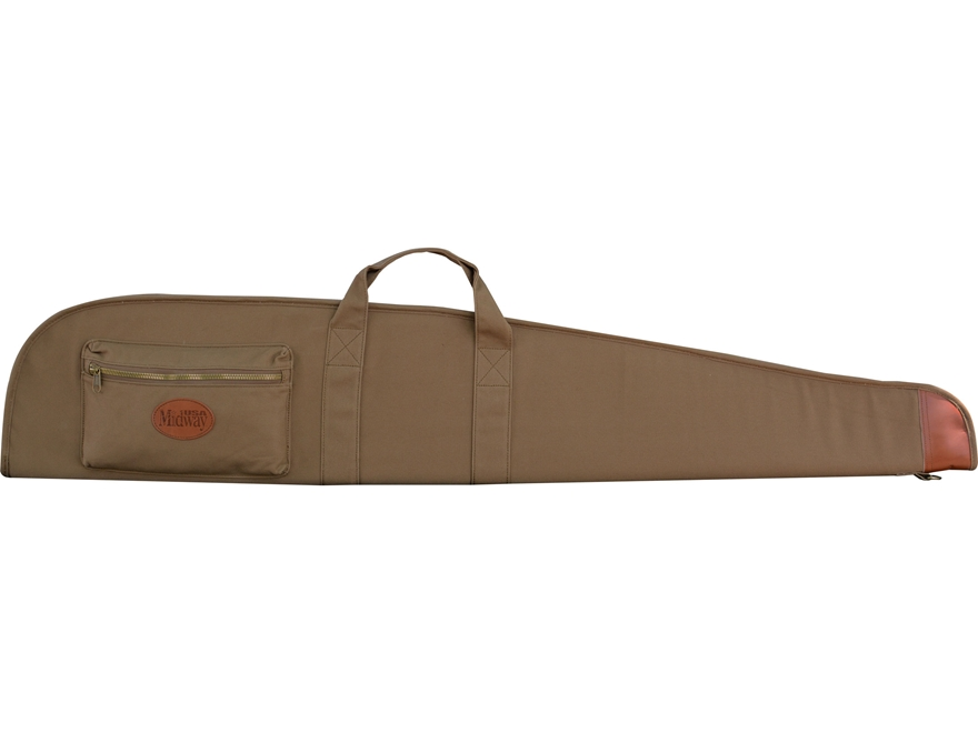 MidwayUSA Deluxe Cotton Canvas Scoped Rifle Case