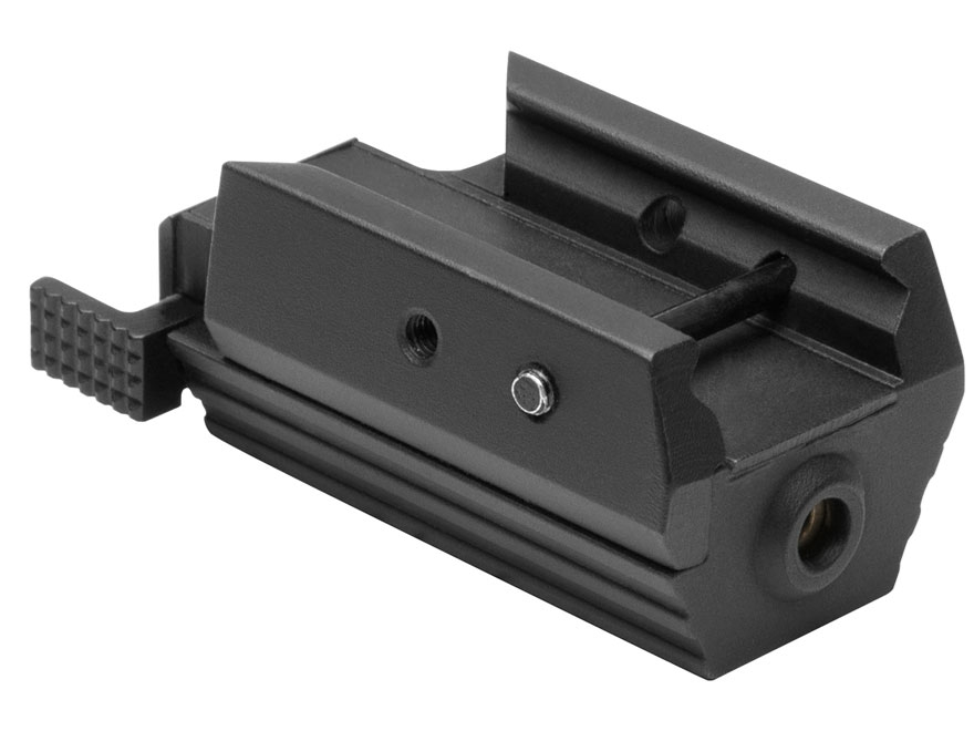 NcStar Tactical Red Pistol Laser with Integral Weaver Mount Black