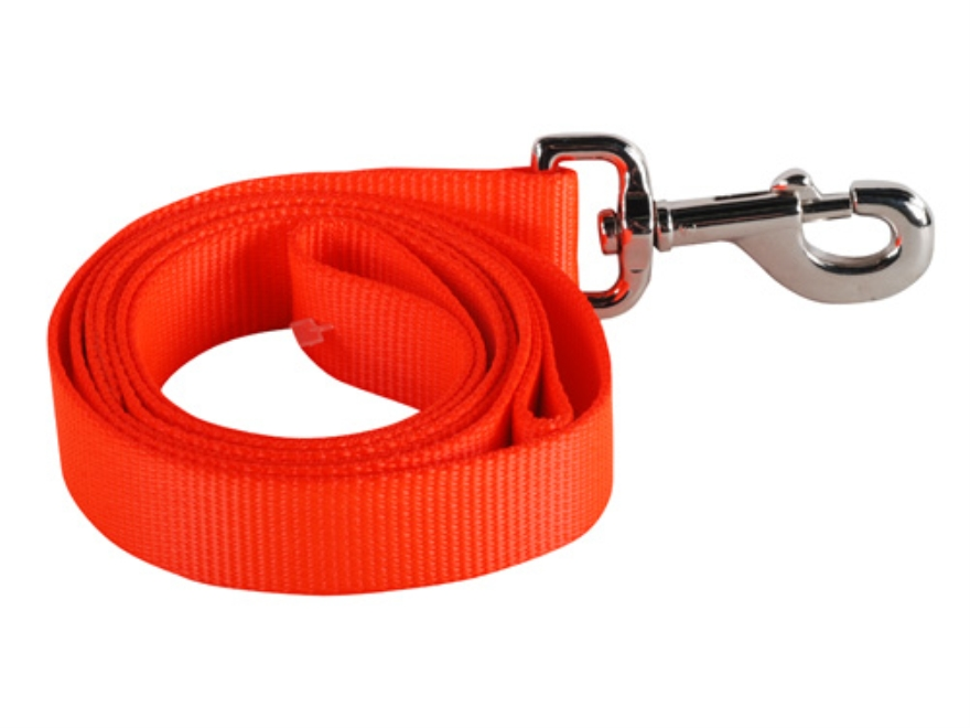 "Remington Single Ply Dog Leash 1"" x 6' Nylon Blaze Orange"