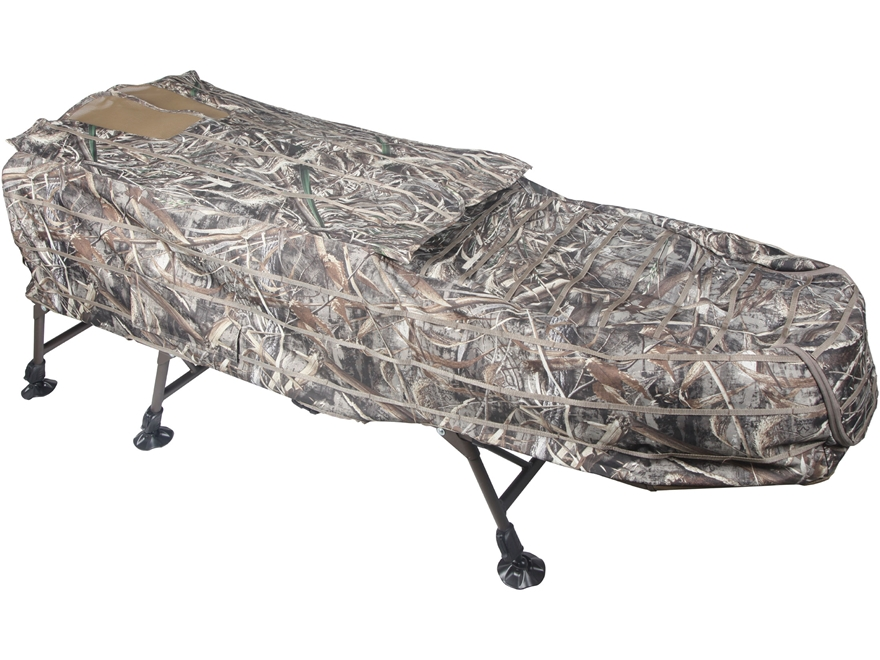 Momarsh AT-X InvisiLAY Elevated Layout Blind Realtree Max-5 Camo
