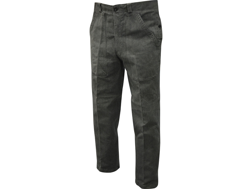 Military Surplus Swiss Work Pants Grade 2 Gray Large