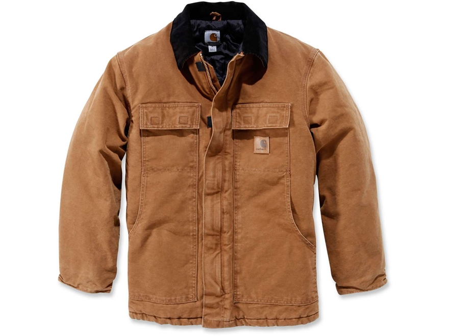 Carhartt Men's Sandstone Traditional Arctic Quilt Lined Coat Cotton
