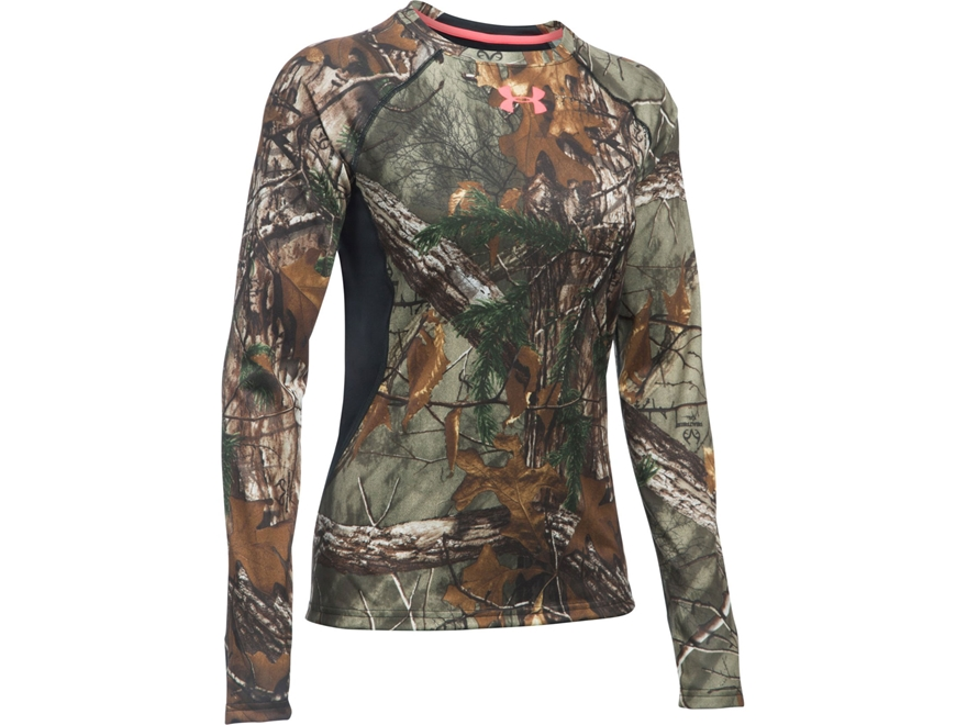 Under Armour Women's UA Scent Control Shirt Long Sleeve Polyester