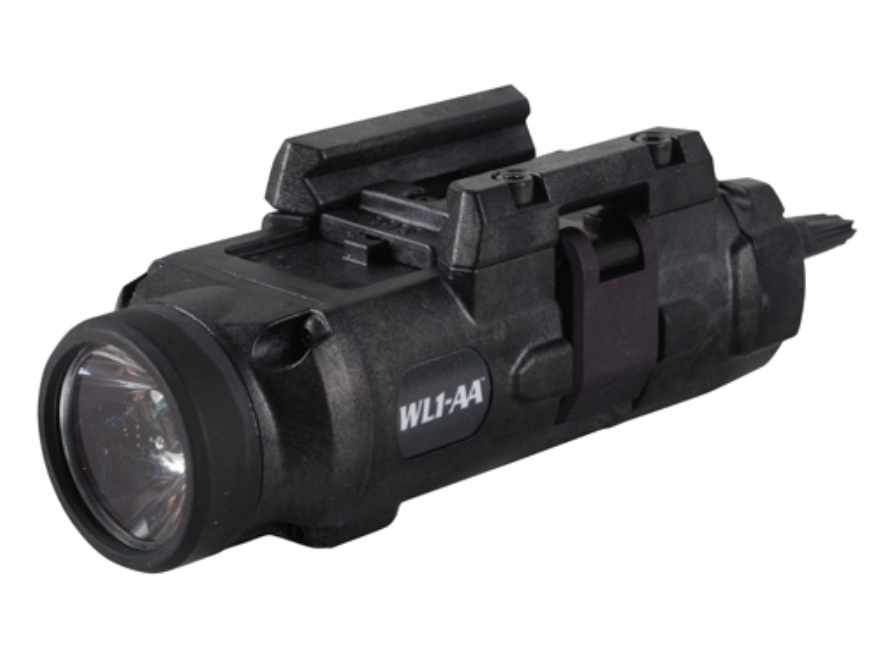 Insight Tech Gear WL1-AA Tactical Illuminator Flashlight LED  Quick Release Rail Mount ...