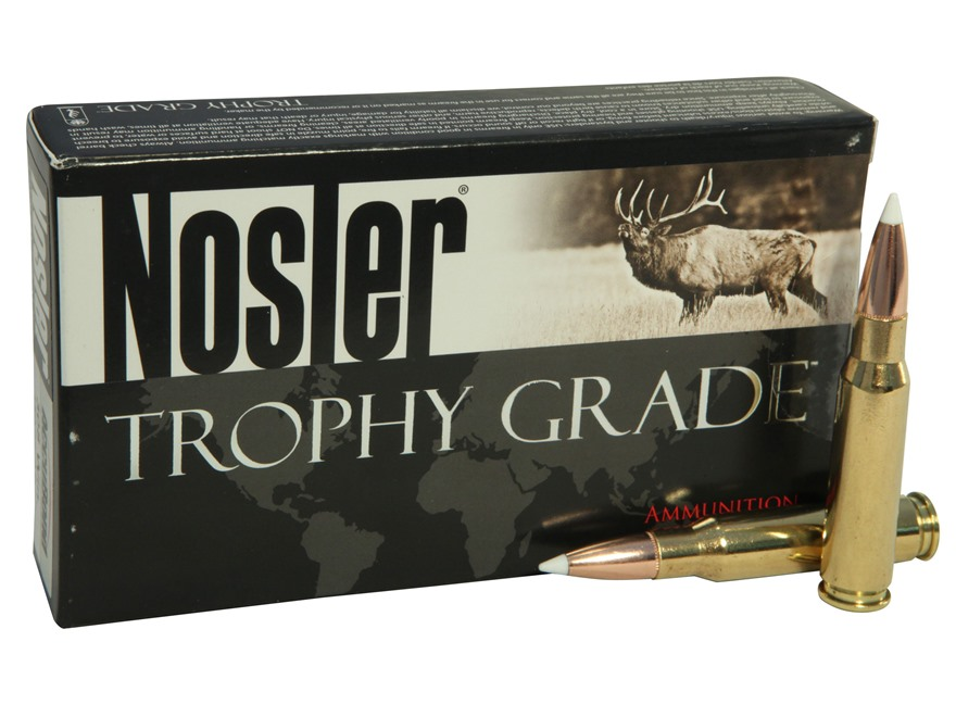 Nosler Trophy Grade Ammunition 308 Winchester 150 Grain AccuBond Box of 20