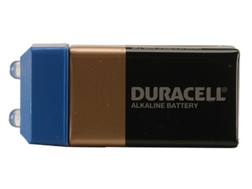 CrossTac Pak-Lite Flashlight fits on 9-Volt Battery Blue LEDs
