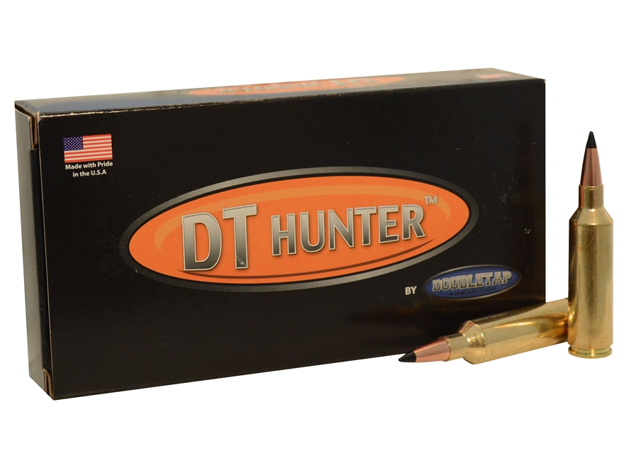 Doubletap Ammunition 270 Winchester Short Magnum (WSM) 130 Grain Swift Scirocco II Box ...