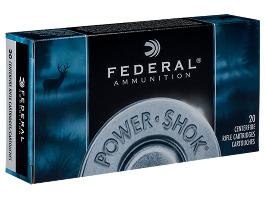 Federal Power-Shok Ammunition 300 Winchester Magnum 150 Grain Speer Hot-Cor Soft Point ...