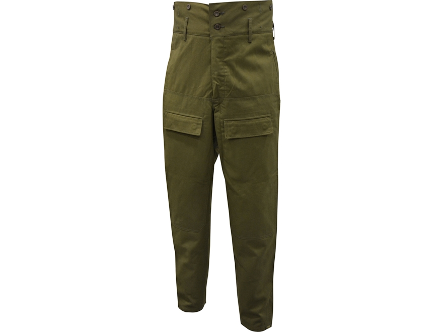 Military Surplus Czech M85 Field Pants Grade 1 Olive Drab Large