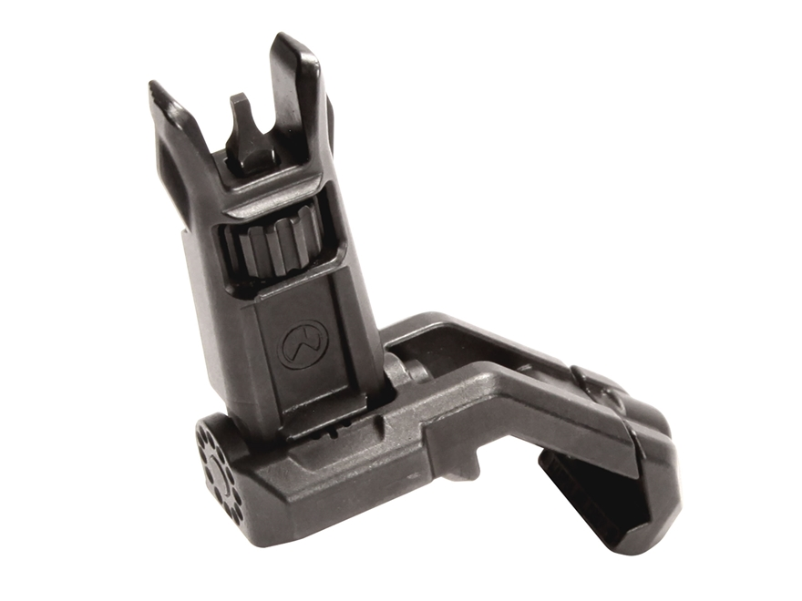 Magpul MBUS Pro Offset Flip Up Front Sight AR-15 Steel Black