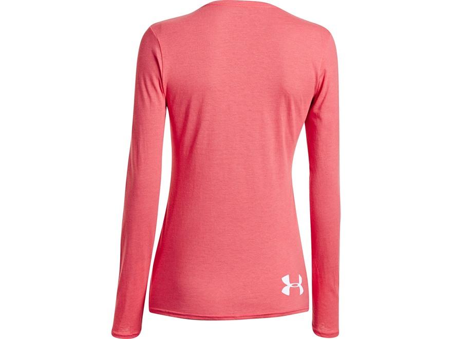 Under armour women 39 s crush t shirt long sleeve cotton for Under armour long sleeve t shirts women
