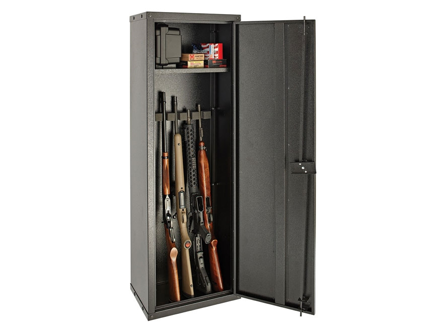 SnapSafe Modular 8 Gun Cabinet Keyed Lock Black - MPN: 75050