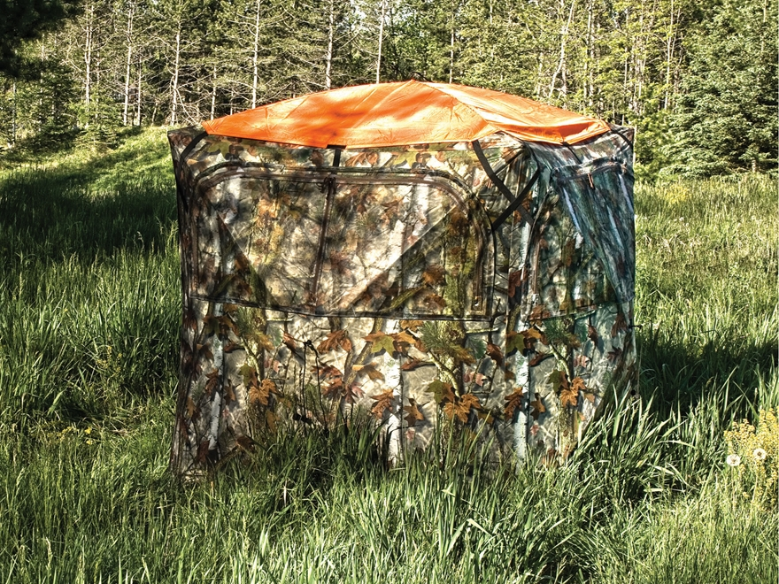 Barronett Ground Blind Safety Cap Polyester Blaze Orange