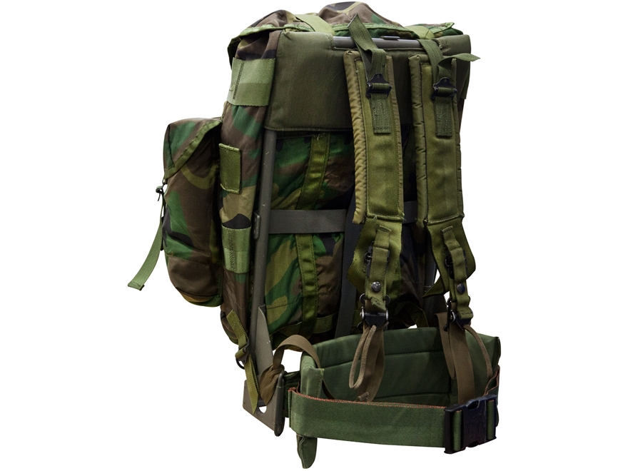 Military Surplus Medium Alice Pack Complete Frame Assembly