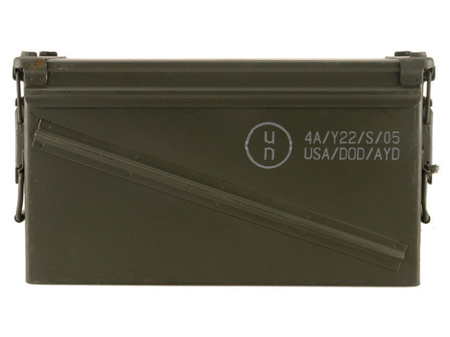 sc 1 st  MidwayUSA & Military Surplus Ammo Can 40mm Aboutintivar.Com