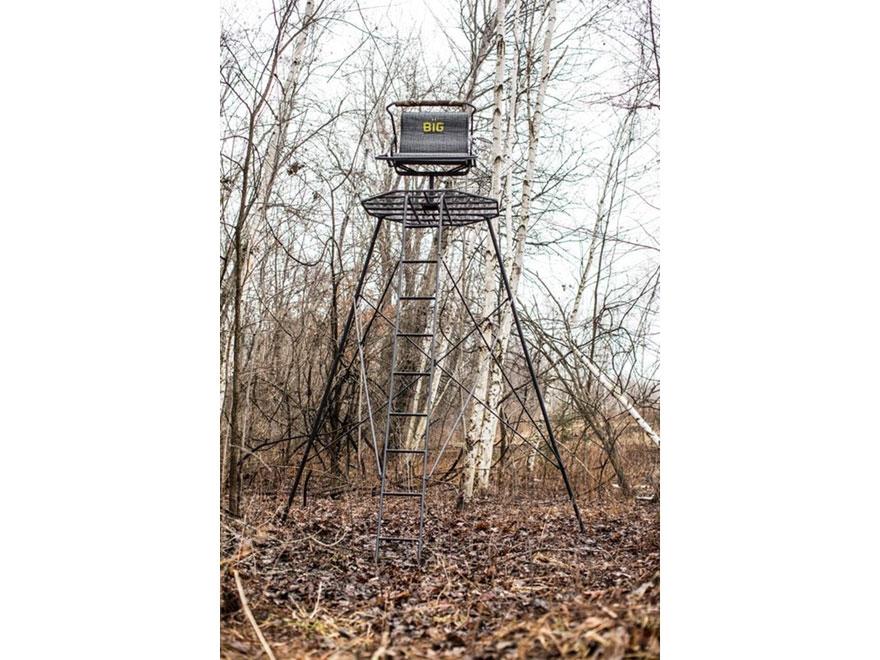 Hawk Big Denali Hunt Pod 13 Portable Ladder Treestand