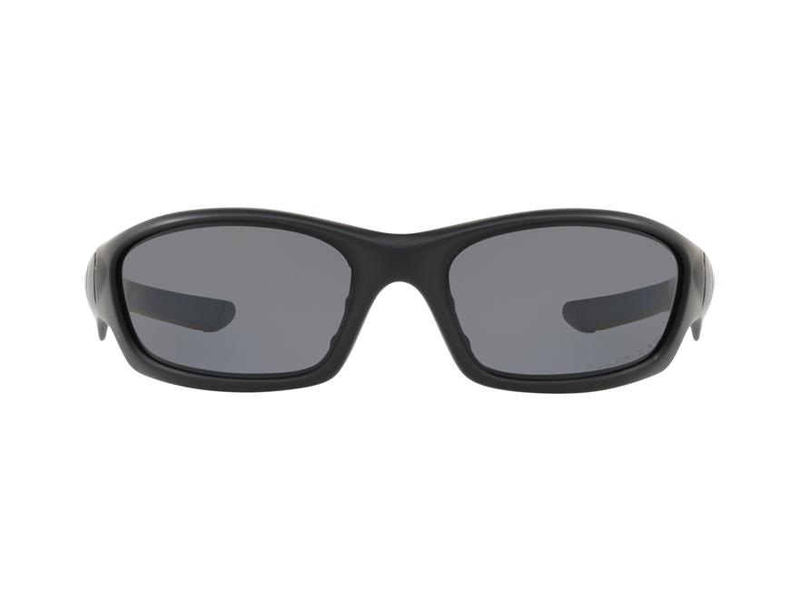 oakley straight jacket matte black polarized grey lens 24 124
