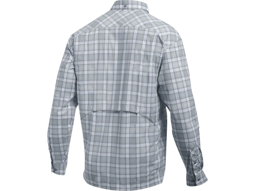 Under armour men 39 s ua fish hunter button up shirt long for Under armour fish hunter shirt