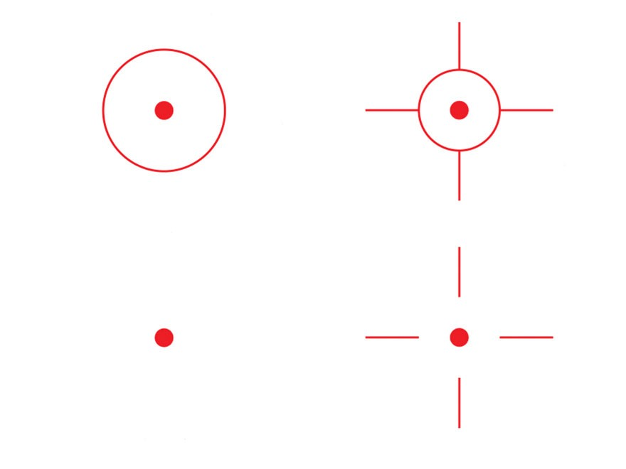 Cabelas: Reticle - Cabela's Prism Reticle Red-Green-Black