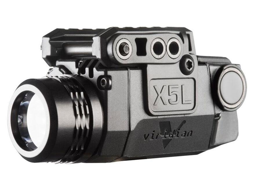 Viridian X5l Gen 2 Weapon Light 178 Lumen Laser Sight