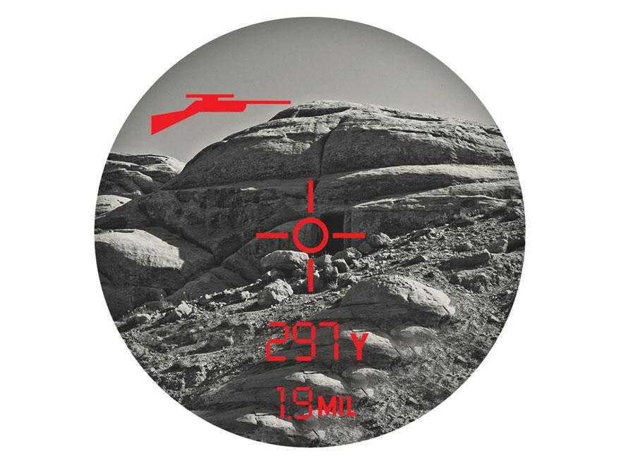 Bushnell Elite 1 Mile CONX Laser Rangefinder 7x Brown Combo Kestrel