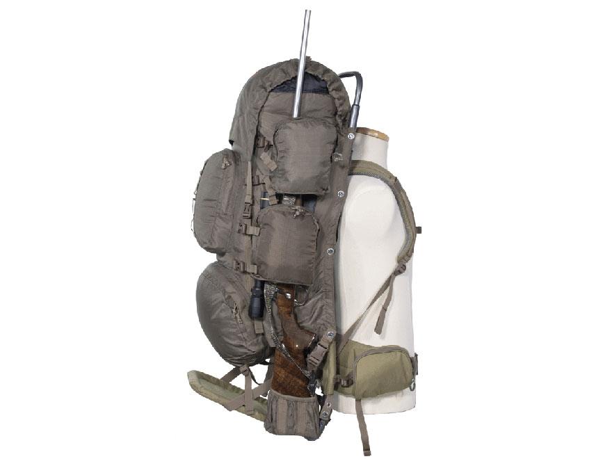 alps outdoorz commander frame backpack nylon tan