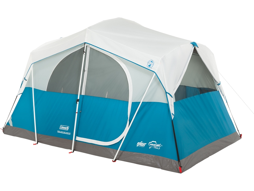 Alternate Image 1 · Alternate Image 2 ...  sc 1 st  MidwayUSA & Coleman Echo Lake Fast Pitch 6 Man Cabin Tent - MPN: 2000019415