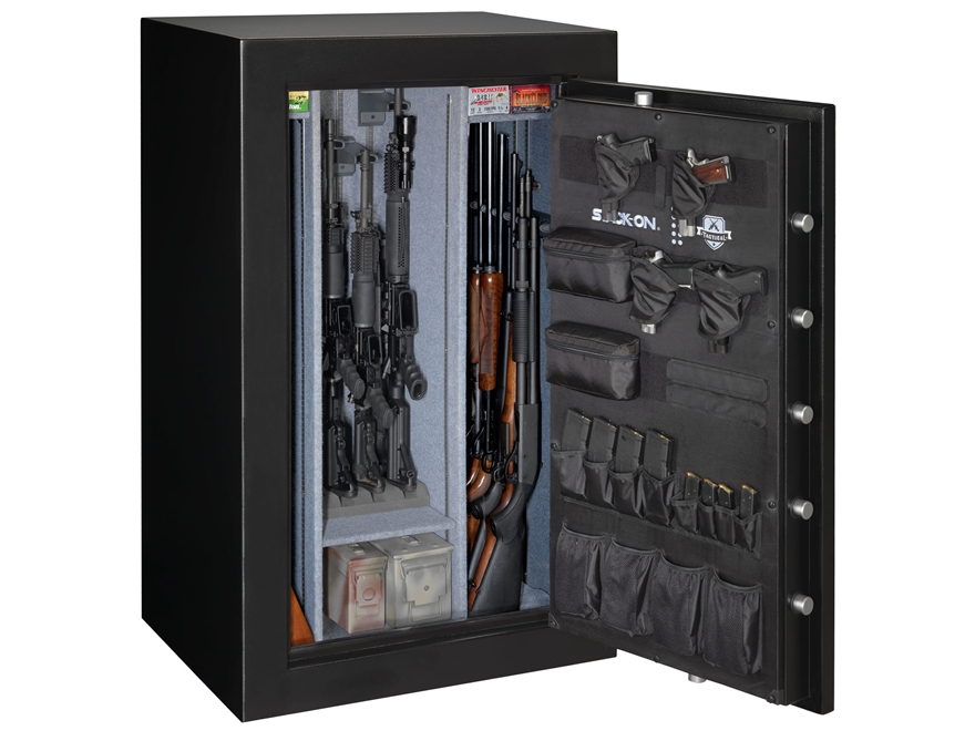stack-on tactical security fire resistant 20 gun - mpn: ts-20-mb-e-s