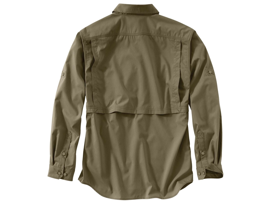 Carhartt men 39 s force ridgefield button up shirt long sleeve for Carhartt men s long sleeve lightweight cotton shirt