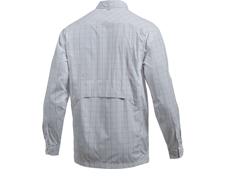 Under Armour Men 39 S Ua Fish Hunter Plaid Button Up Shirt