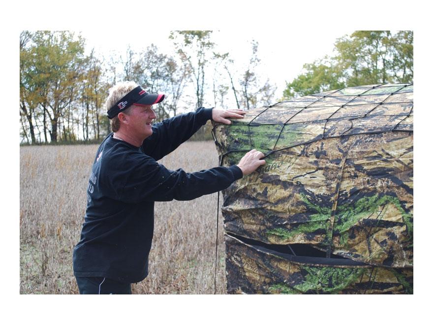 Primos Double Bull Ground Blind Brush Lock Net Black Mpn