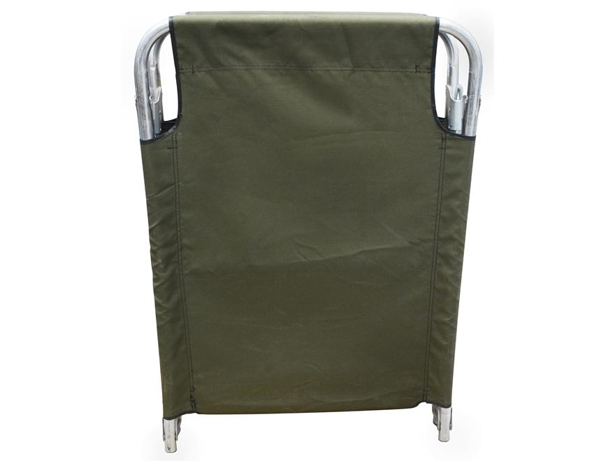 military surplus folding frame cot olive drab